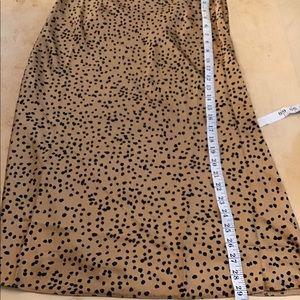 ab2dbf3e133c Nasty Gal Skirts | Spotty Check Satin Midi Skirt New Tags | Poshmark